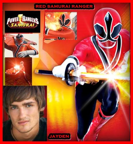 Jayden the red samurai ranger