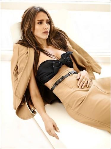 Jessica - Gulliano Bekor - Harper's Bazaar 2011