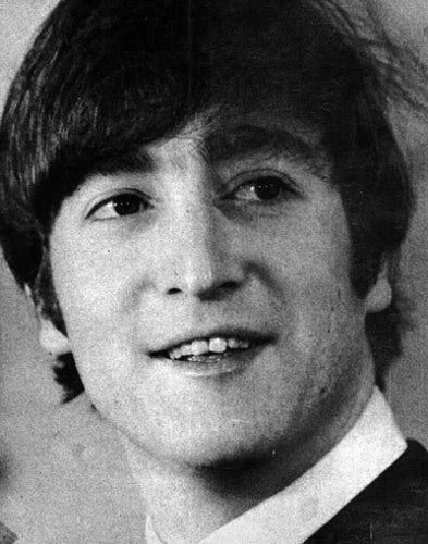 John Lennon پیپر وال probably containing a business suit and a fedora titled John Lennon