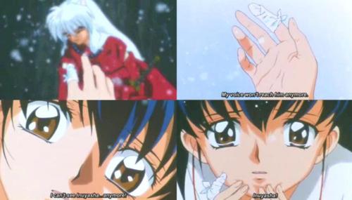 Kagome and Inuyasha ♥