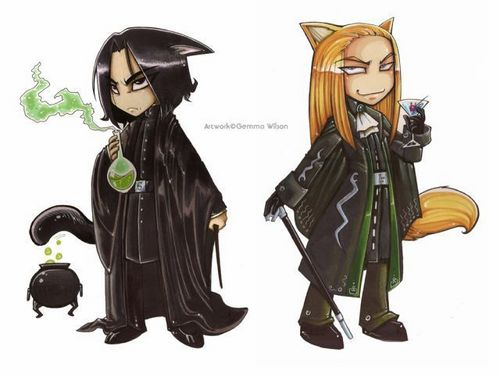 Lucius/Severus - severus-and-lucius-beneath-the-masks Fan Art