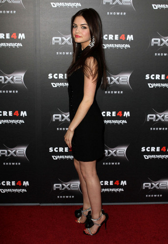 Lucy Hale ~ Scream 4 Premier