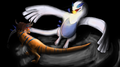 Lugia vs Greymon, battle of titans
