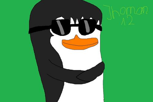 LunaPenguin Drew me As a 펭귄 i Look Handsome