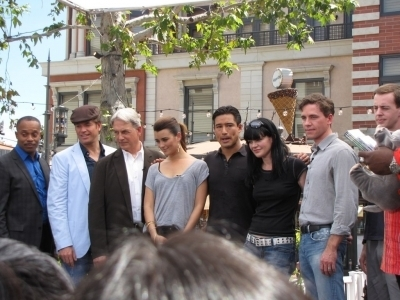 MW and the team at The Grove April 16th