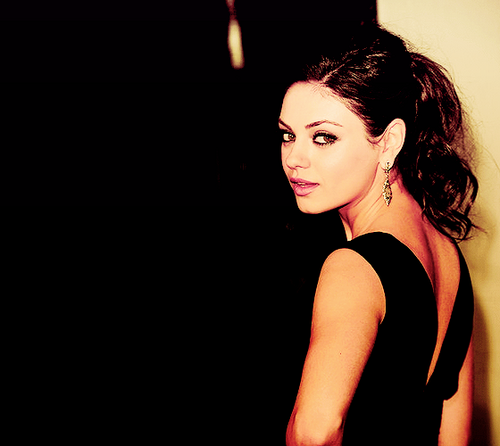 Mila Kunis. <3