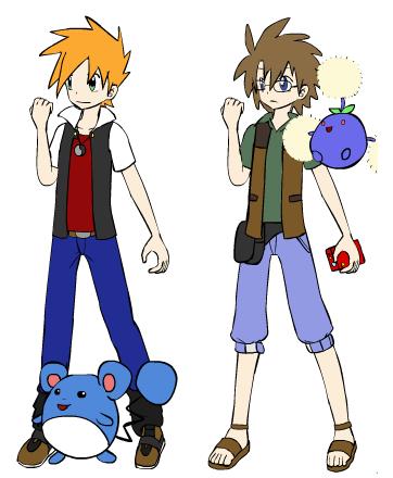 Pokemon Misty And Gary Images | Pokemon Images