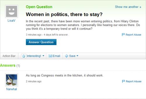 еще Funny Yahoo Answer FAILS