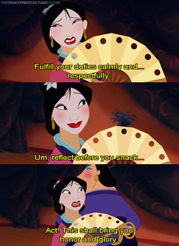 Mulan and the matchmaker