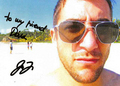 My autograph from Jon <3