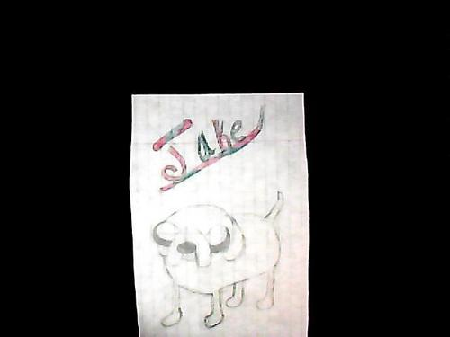 My drawing of Jake - adventure-time-with-finn-and-jake Fan Art