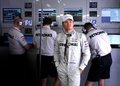 Nico Rosberg in garage after practice at GP China,Shanghai