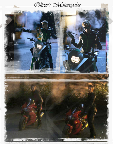 Oliver Queen's Motorcycles