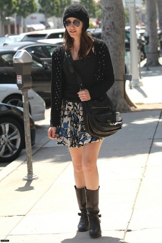 Out in Beverly Hills - April 11
