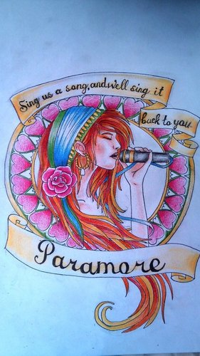 Paramore Tattoo Design