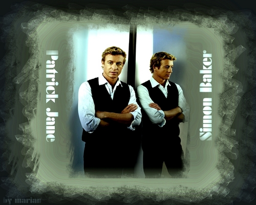 Patrick Jane/Simon Baker - the-mentalist Wallpaper