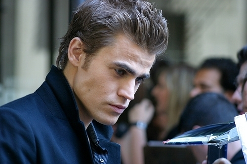 Paul Wesley wallpaper probably containing a business suit entitled Paul Wesley / old pictures