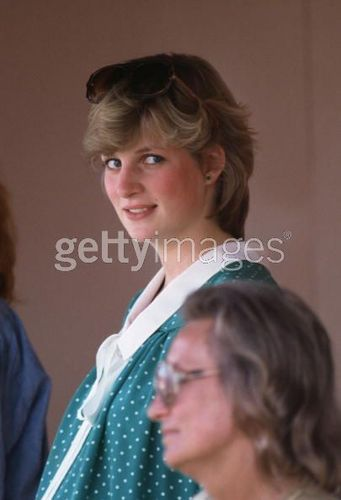 Princess Diana pregnant with Prince William.