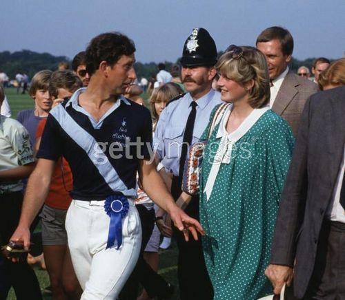 Princess Diana pregnant with Prince William.