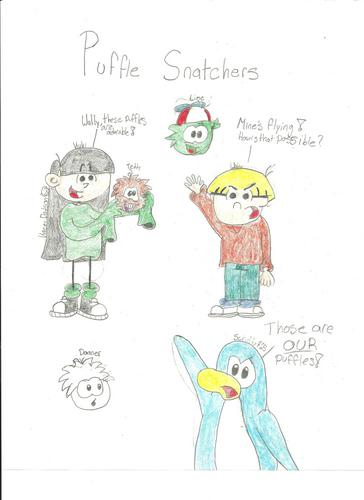 Puffle Snatchers