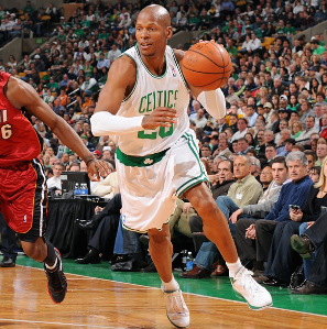 rayon, ray Allen #20