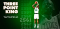 Ray Allen 3 point KING