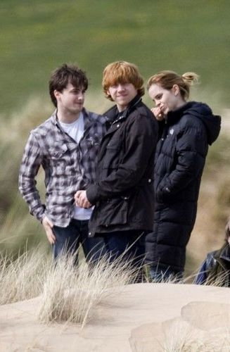 Rupert Grint wallpaper entitled Rupert Dan and Emma