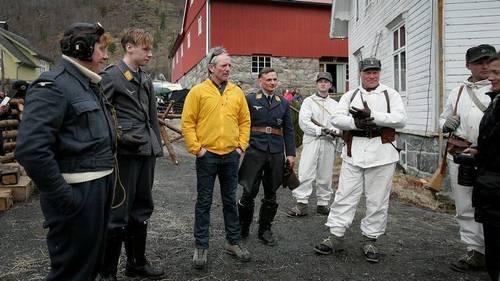 Rupert Grint foto on-set of anti-war drama Comrade