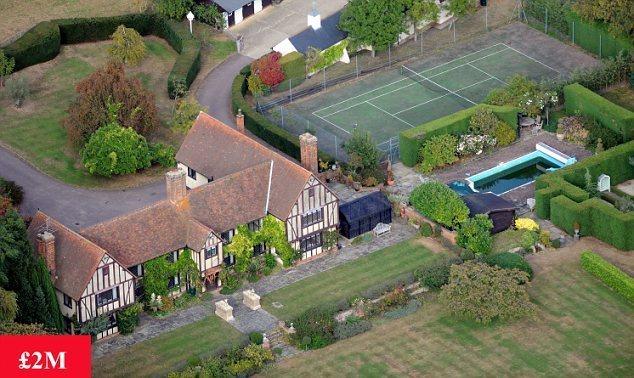 Rupert's Family home