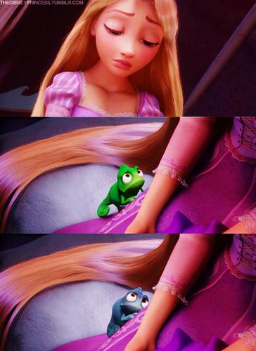 Sad Rapunzel