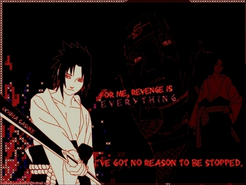 Sasuke`s motto