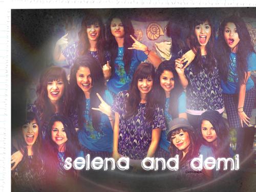 Selena&Demi Обои ❤