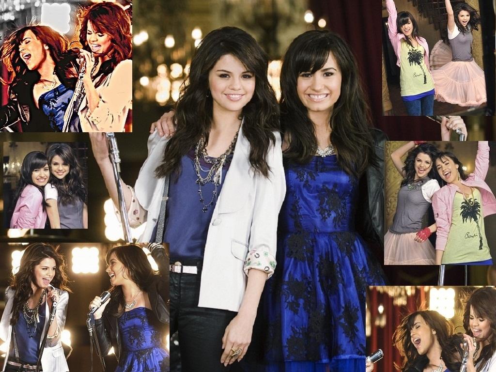 Selena&Demi Wallpaper - Selena Gomez and Demi Lovato ...