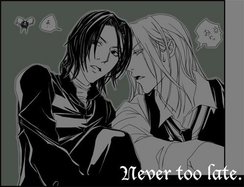 Severus/Lucius Never too late