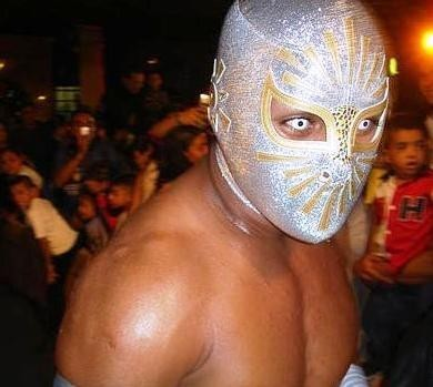 wwe sin cara without mask. makeup sin cara wrestler no