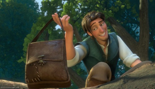 Flynn Rider wallpaper containing a barrow titled Sorry...my hands are full!