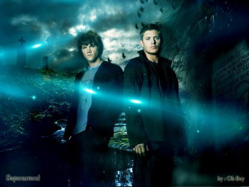 Supernatural Cool fond d'écran