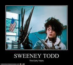 Sweeney Todd Funnies