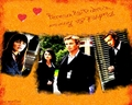 Teresa&Patrick - the-mentalist wallpaper