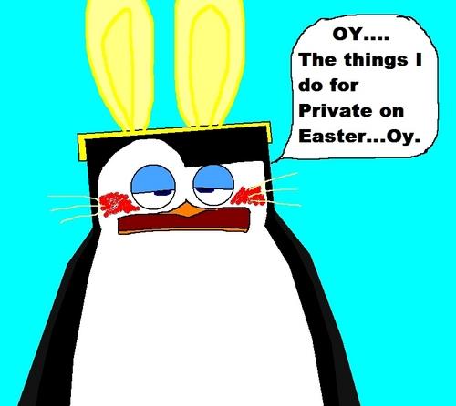 The Easter पेंगुइन
