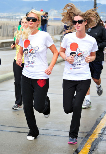 The 'Youth Run 4 Japan' Fundraiser In Santa Monica