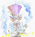 Tim's concept painting of Hatter