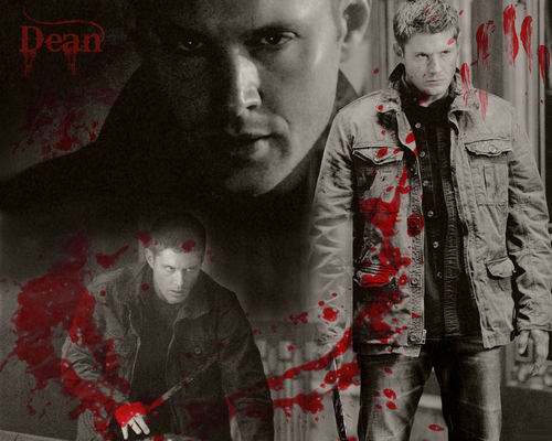 Vamp!Dean wallpaper