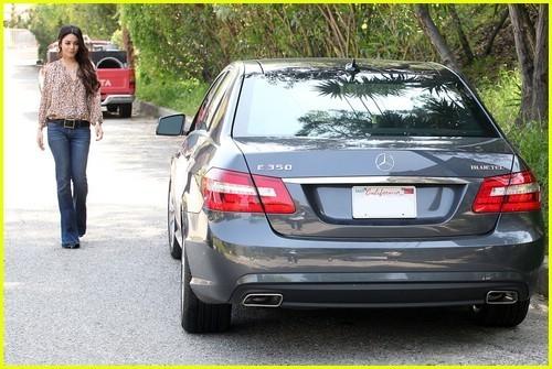 Vanessa Hudgens: New Mercedes Benz!