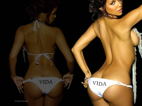 Vida Guerra wallpaper containing a bikini entitled Vida Guerra