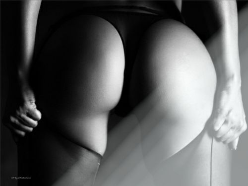 Vida Guerra wallpaper probably containing hosiery, bare legs, and a leotard entitled Vida's Beautiful Backside