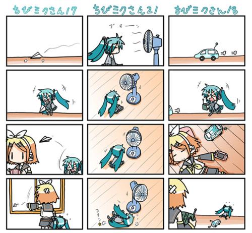 Vocal comics