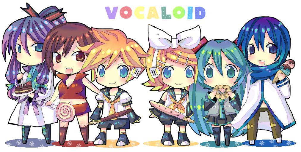 Vocaloids - Vocaloids Photo (21040933) - Fanpop
