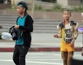 Willow & Jaden on the set of 21st Century Girl - willow-smith-style photo