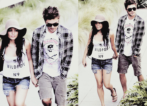 Zac Efron & Vanessa Hudgens wallpaper with long trousers called ZANESSA